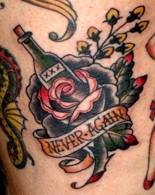 Alchool free tattoo