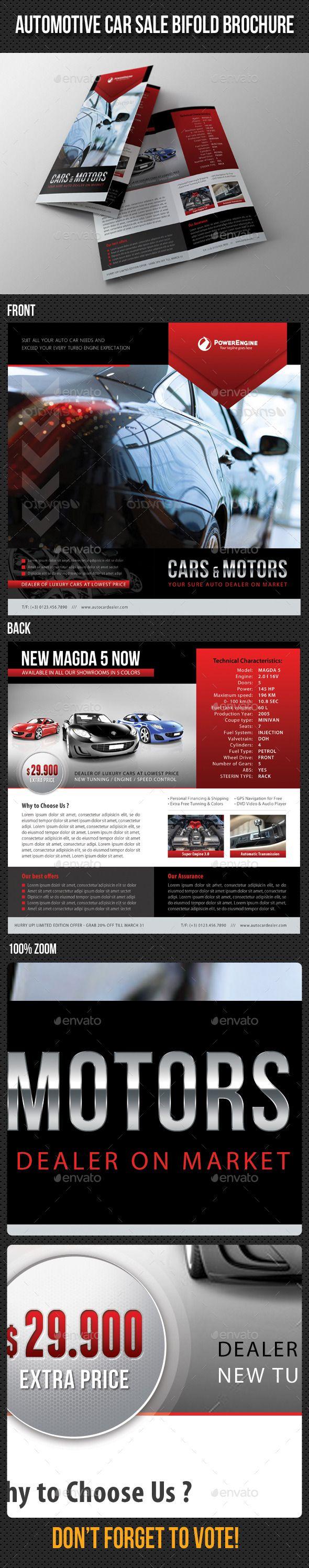 Best Automotive Brochure Template Images On