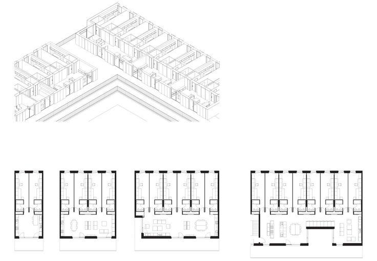 EPFL Quartier Nord, Student Housing, Ecublens