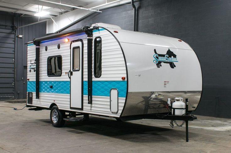 2017 Serro Scotty Retro Camper Small Travel Trailer Vintage Theme Modern RV | eBay