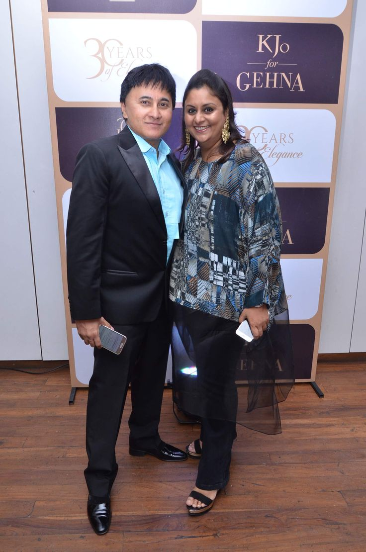 Sameer and Palak Sheth #GehnaTurns30 #KjoForGehna #Bollywood #Celebrities #Jewellery