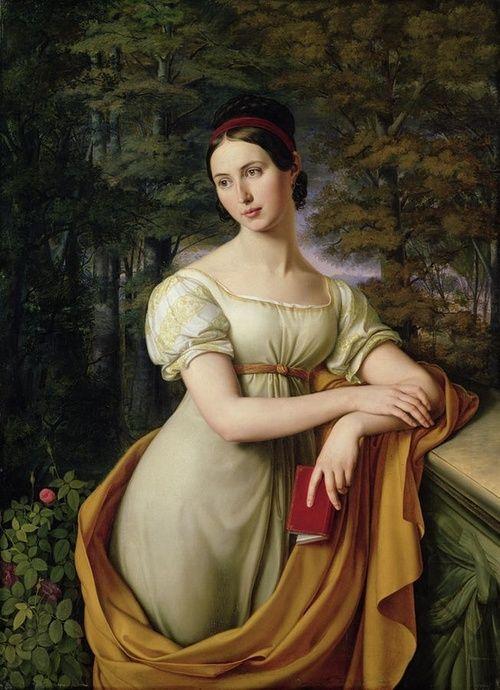 Friedrich Wilhelm von Schadow: Agnes Rauch, 1825. Agnes Rauch (1804–1881) was the daughter of the sculptor Christian Daniel Rauch.
