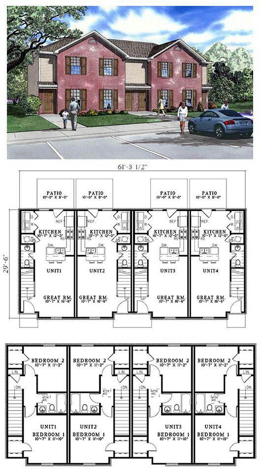 26 best duplex multiplex plans images on pinterest for Apartment design 90m2