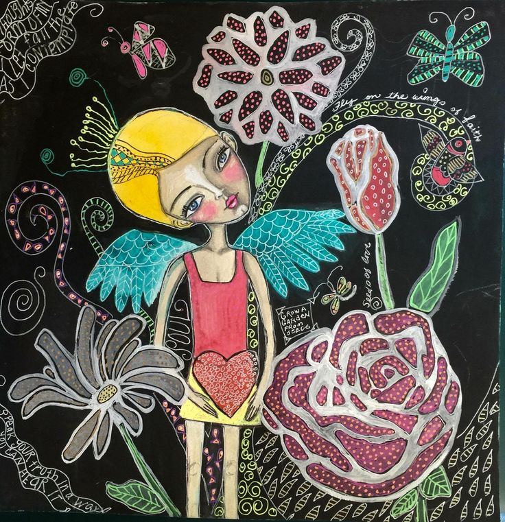 Grow a Garden From Seeds by Jeanette MacDonald Art