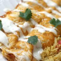 Ranch Chicken Enchiladas | The Recipe Critic