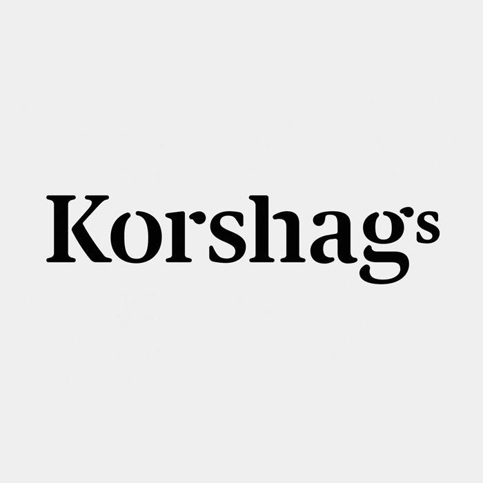 Logotype design for Swedish seafood producer Korshags by Kurppa Hosk.