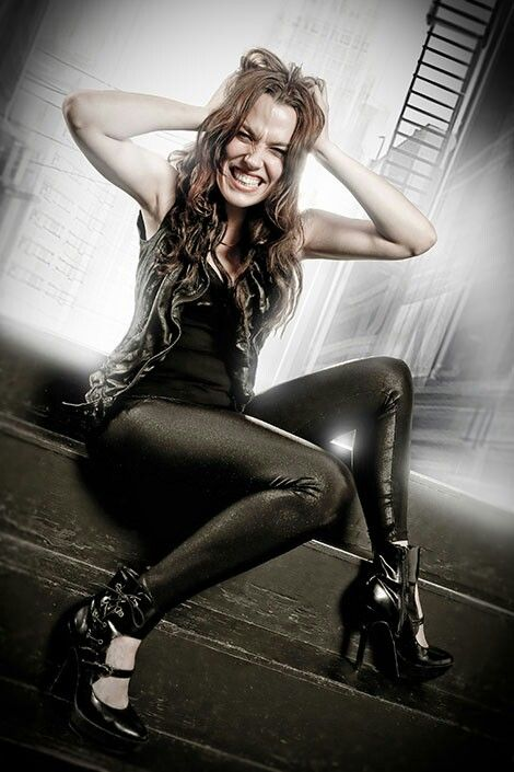 "Lzzy Hale - Halestorm's latest is awesome! I just hope that all the overexposure doesn't turn Lizzy into a ""rock star""."