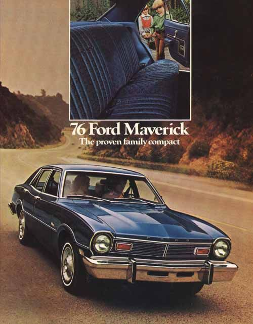 1976 Ford Maverick ad.
