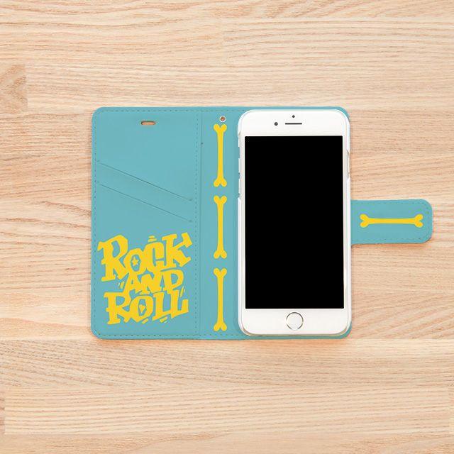 『DESIGN@RT MUSEUM / KENTOO』(iPhoneケースINSIDE)   石川県を拠点にイラスト制作、キャラクターデザインなど幅広く活動。DO THE POP!をテーマにロックテイスト、アメリカンなイラストを手掛けるクリエイター『KENTOO』。 「ロックンロール天使の休日の1コマを表現しました。」とのこと。