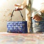 """""""15_Fifteen 05: Borsa realizzata intrecciando sacchetti di caffè #Upcycling #bag #artigianato #madeinitaly #accessori #riciclo"""