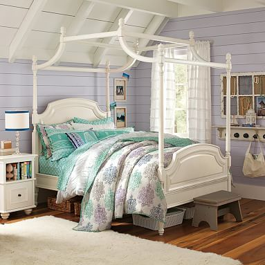 Coraline Canopy Bed #pbteen, full $1200