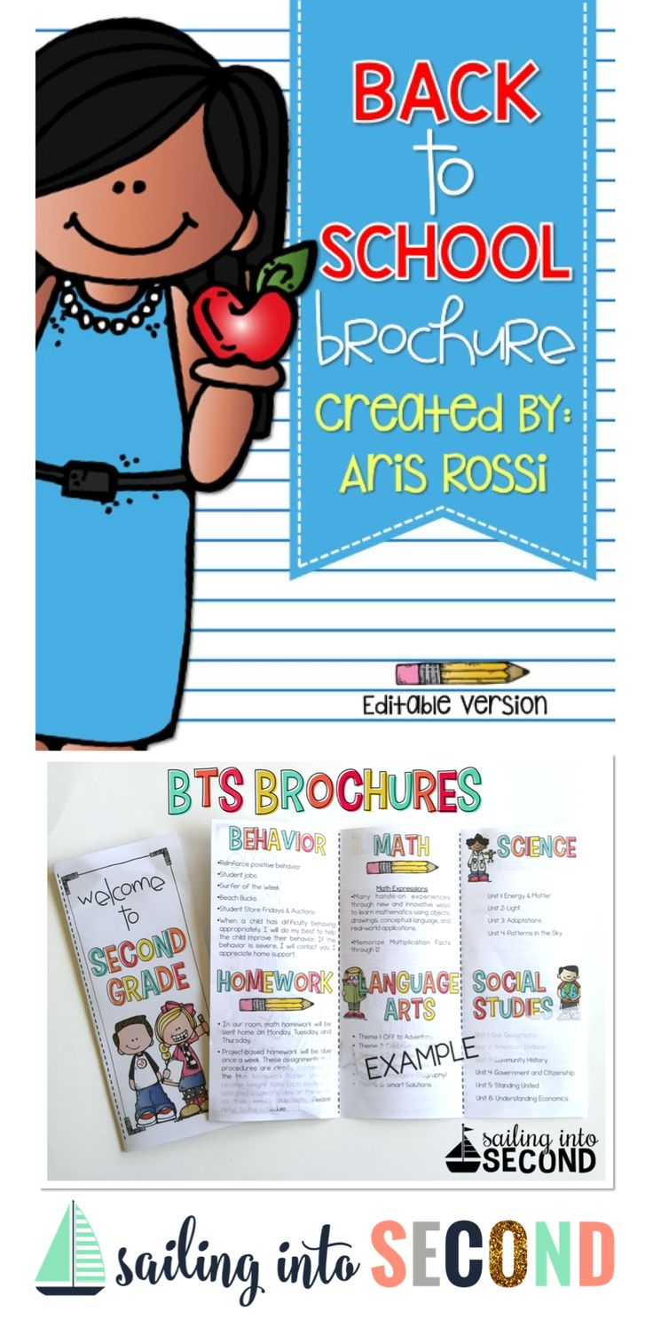 Best 25 open house brochure ideas on pinterest back to for Meet the teacher brochure template