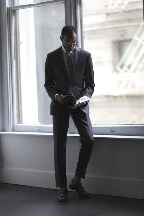 Suitsupply: The Charcoal Suit. CB. Still...