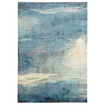Monet Stunning Rug in Blue - 280x190cm