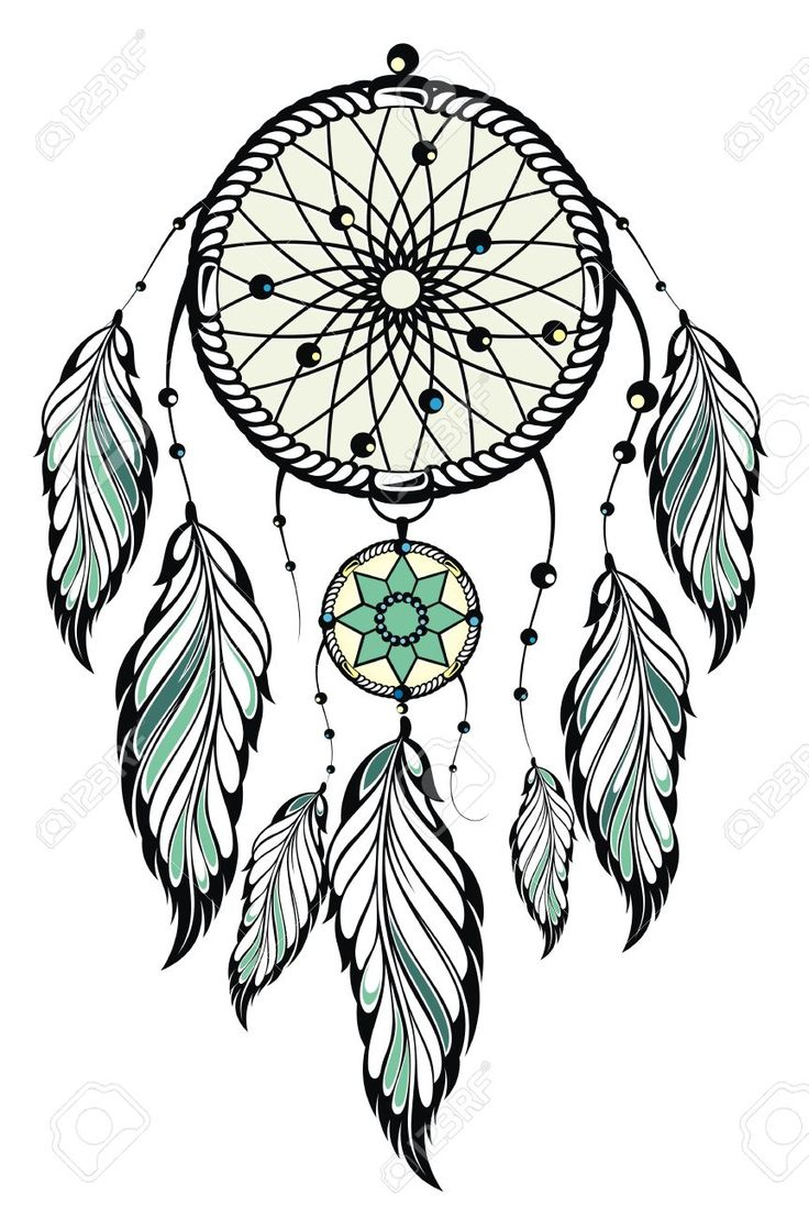 Atrapasue os dibujo blanco y negro buscar con google for Dream catcher graphic