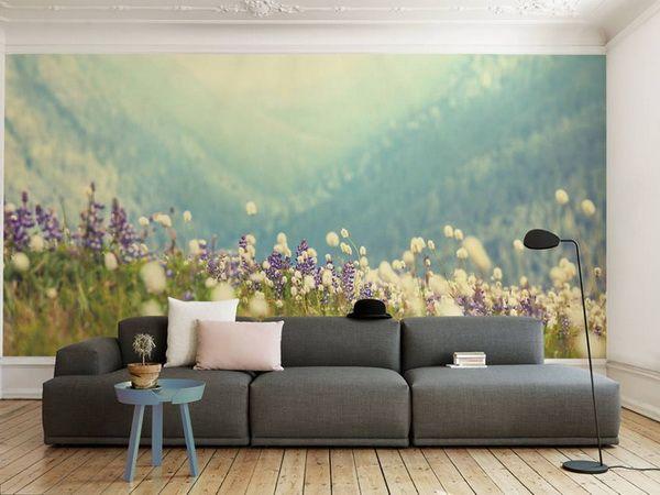 M s de 1000 im genes sobre salones en pinterest sof - Fotomurales para pared ...