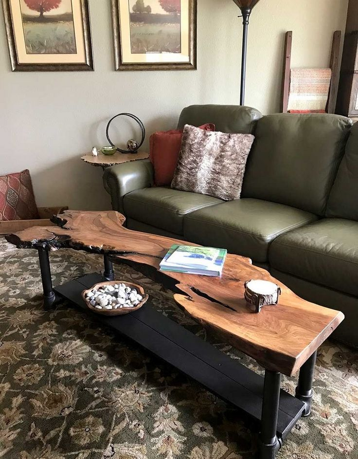 Pin By Chris Mcm On Home Indoors Wood Coffee Table Diy Wood Table Design