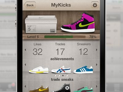 My Kicks Profile