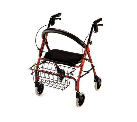 nova cruiser deluxe junior 4 wheeled walker rollator health and beauty by ab - Nova Walkers