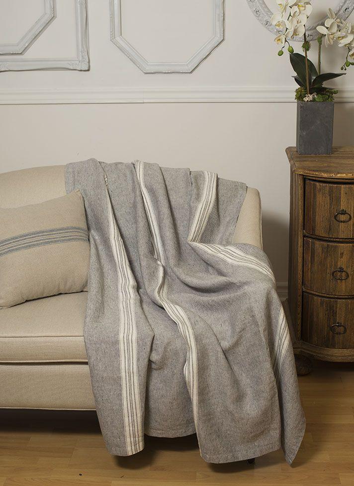 #Linen Way # Linen # Linen Throws #Throws #Stone-Washed Linen # Contemporary Throw
