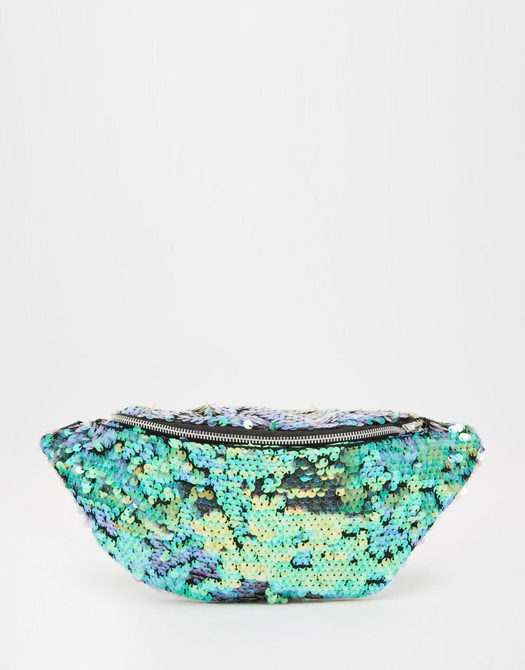 (For When I'm In Costune & Need A Purse, Lol) =P Jaded London Mermaid Sequin Bum Bag- $63.00