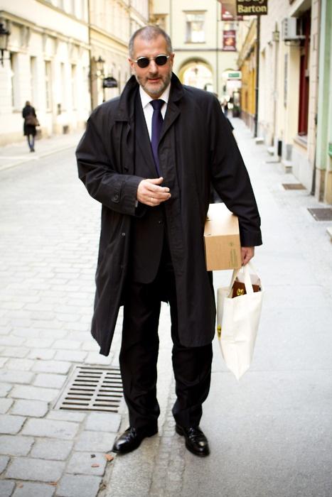 President of Wroclaw (or Leon?)  Wro Street Fashion