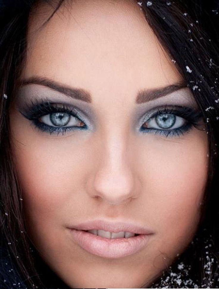 макияж для брюнеток10