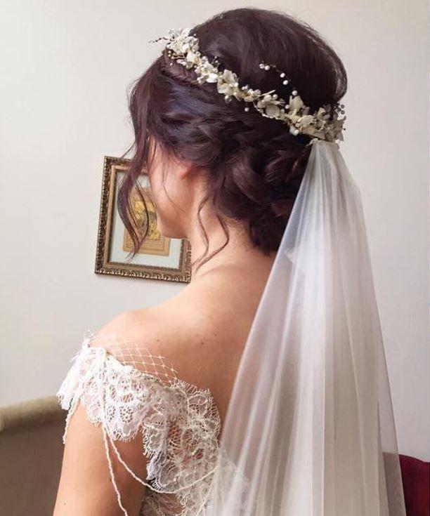 Brauthaar – Schönste Brautfrisuren – Brautknauf   – Gelin Topuzu Saç Modelleri