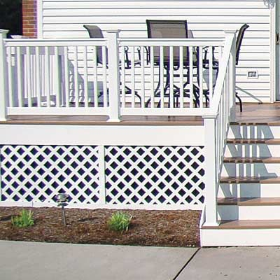 Finishing Touches: Lattice Skirt   What You Should Know Before Building A Deck   This Old House