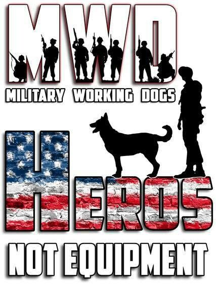 Military Working Dogs (MWD)