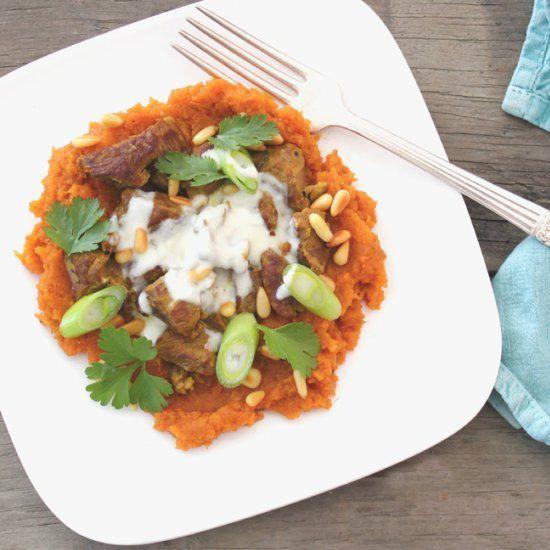 ... moroccan style sweet potato mash is wonderfully flavorsome more potato