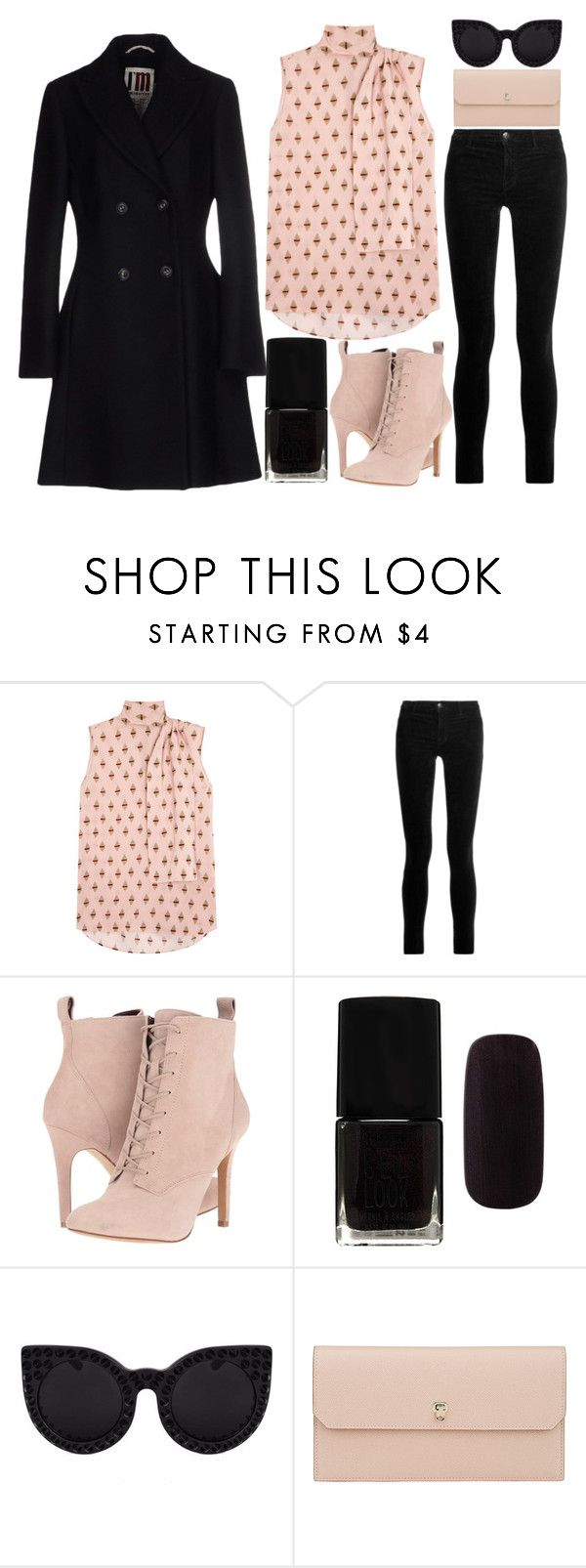 """""""Sunday brunch!!"""" by j-n-a ❤ liked on Polyvore featuring Valentino, J Brand, BCBGeneration, Forever 21, Delalle, Valextra and I'm Isola Marras"""