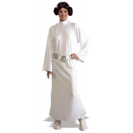 Amazon.com: Adult Star Wars Princess Leia Costume (Size:Stand): Clothing