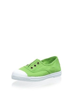 43% OFF Natural World Kid's Ingles Elastico Laceless Sneaker (Verde)