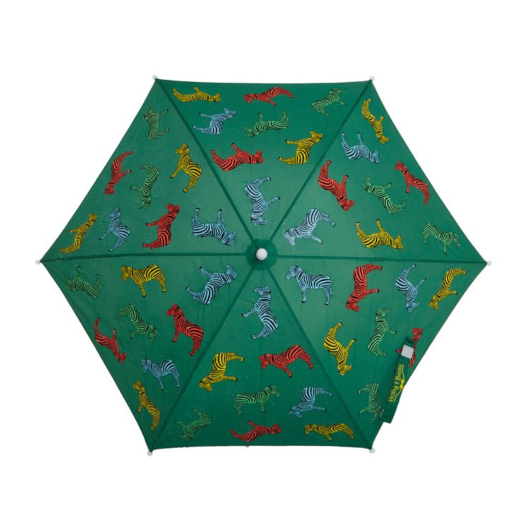 Toll Holly And Beau   Kids Zebra Colour Changing Umbrella