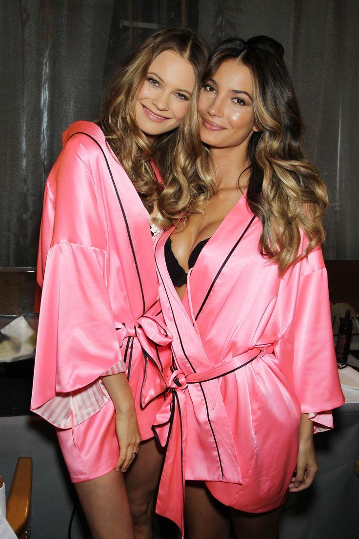 Backstage at the 2012 Victoria's Secret Fashion Show