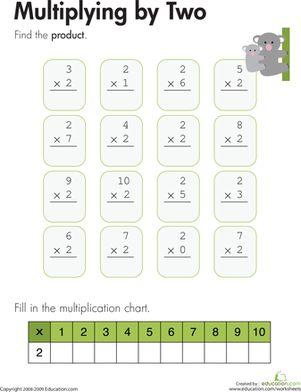 17 Best images about Multiplication Worksheet on Pinterest | 3rd ...