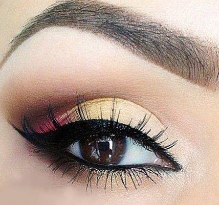 Maquillaje de ojos para la noche paso a paso :