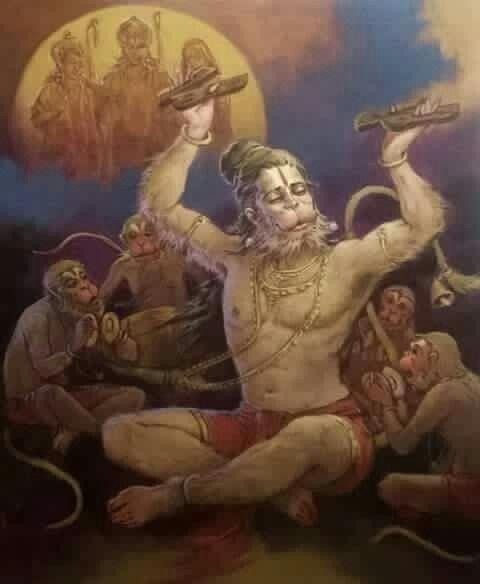153 Best Images About Hanuman Images On Pinterest
