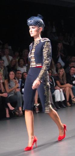 Elio Berhanyer, female torero outfit