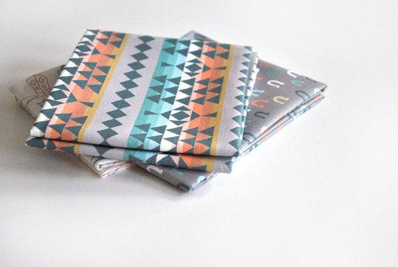southwest stripe  southwestern fabric  original by KatherineCodega