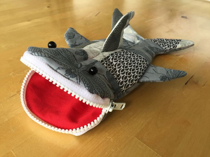 Shark pencil case for my grandson.