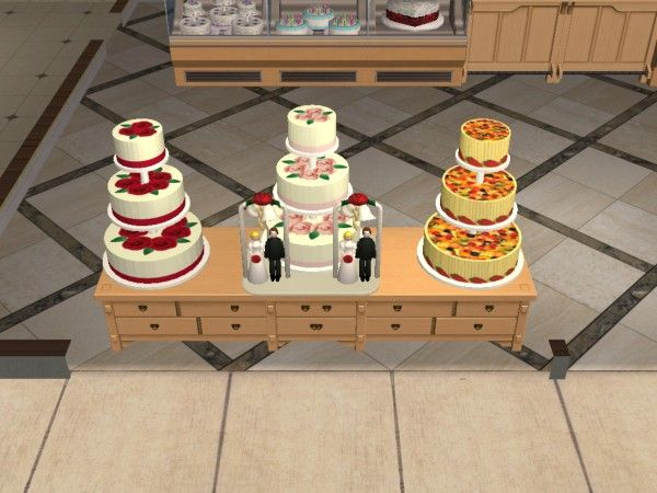 how to cook wedding cake sims 4 17 best images about sims 2 weddings arches flower 15608