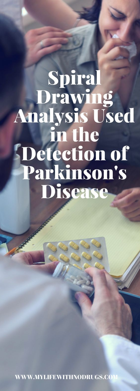 For a long time now, there has been no definite diagnosis for #Parkinson'sdisease. A recent study has however found that it is, in fact, possible to detect this disorder by drawing a simple spiral.