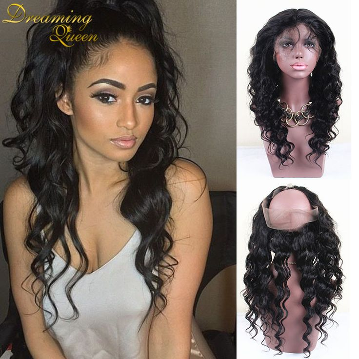 Malaysia 360 Lace Frontal Closure Loose Wave 360 Frontal Lace Closure Baby Hair Nautral Hairline Malaysia Virgin Hair 360 Band