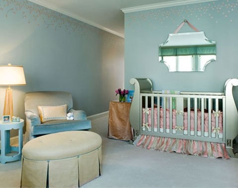 shimmering nursery #nursery