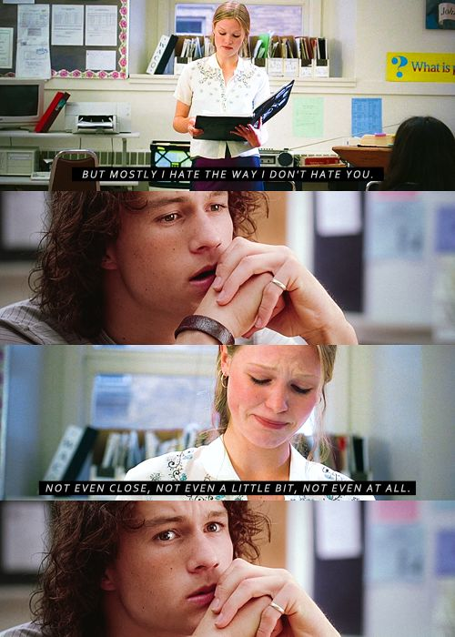 10 Things I Hate About You -- Not all that great of a movie, but this scene makes me want to cry.