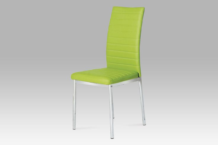 Jídelní židle koženka zelená limetka GYR-52 SLEVA* (6764044254) - Aukro - největší obchodní portál