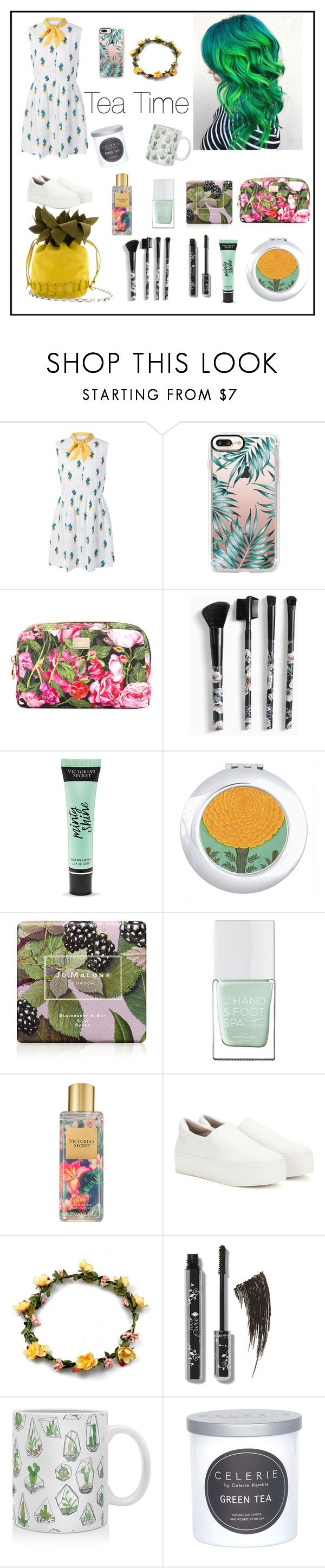 """""""Untitled #12"""" by volohovic-renia ❤ liked on Polyvore featuring Casetify, Dolce&Gabbana, Torrid, Victoria's Secret, Jo Malone, The Hand & Foot Spa, Opening Ceremony, DENY Designs and CELERIE by Celerie Kemble"""