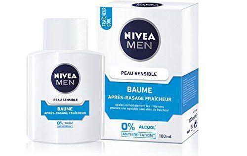 Nivea Men Baume Après Rasage Peau Sensible Fraicheur 100 ml – Lot de 2: Pour les hommes qui ont la peau sensible et qui veulent combattre…
